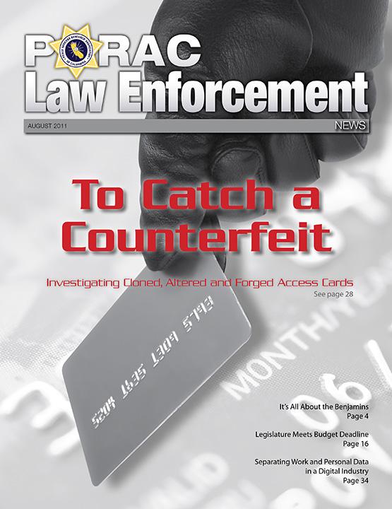 PORAC Law Enforcement News – August 2011