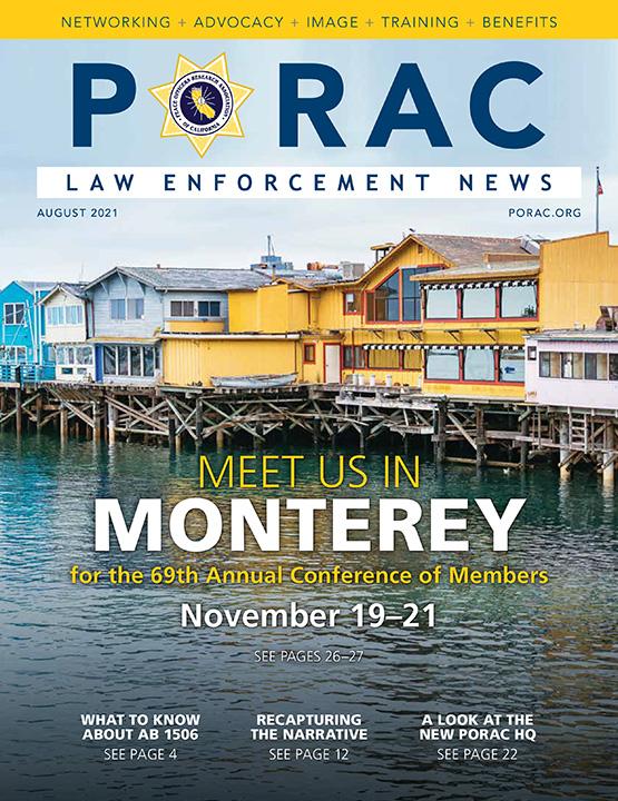 PORAC Law Enforcement News – August 2021