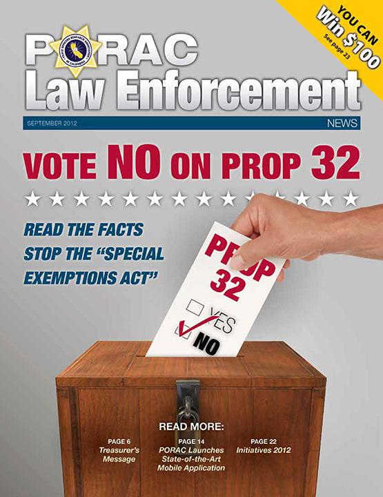PORAC Law Enforcement News – September 2012