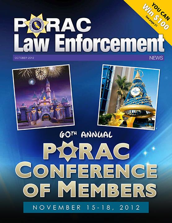 PORAC Law Enforcement News – October 2012