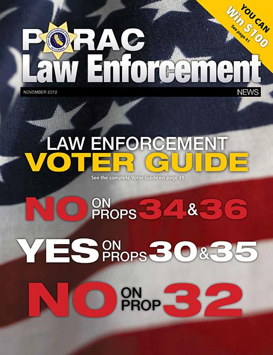 PORAC Law Enforcement News – November 2012