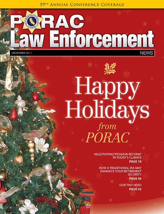 PORAC Law Enforcement News – December 2011