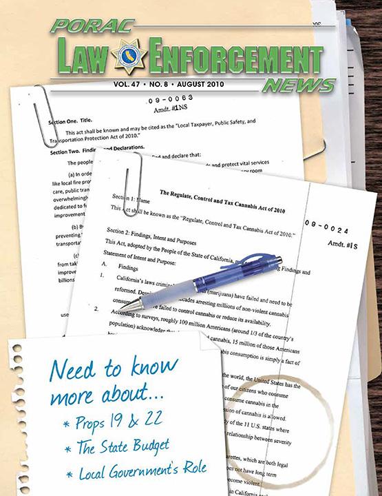 PORAC Law Enforcement News – August 2010