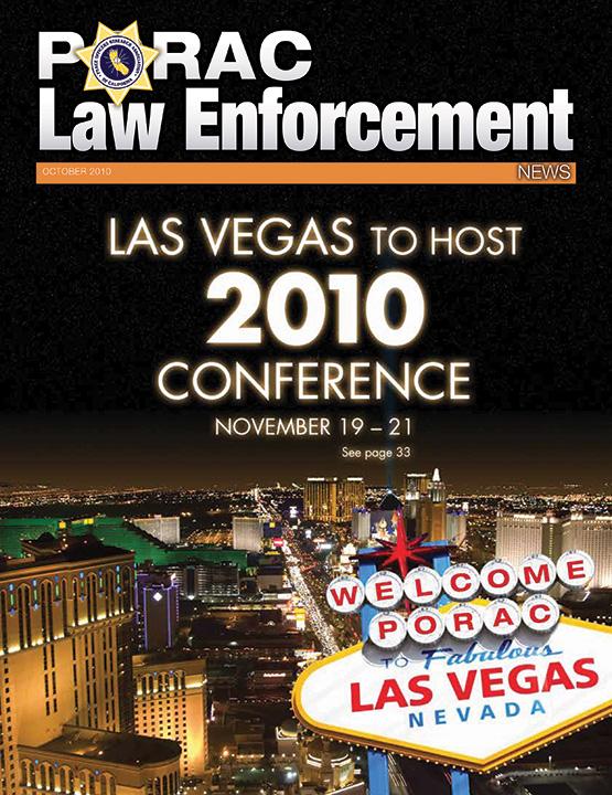 PORAC Law Enforcement News – October 2010