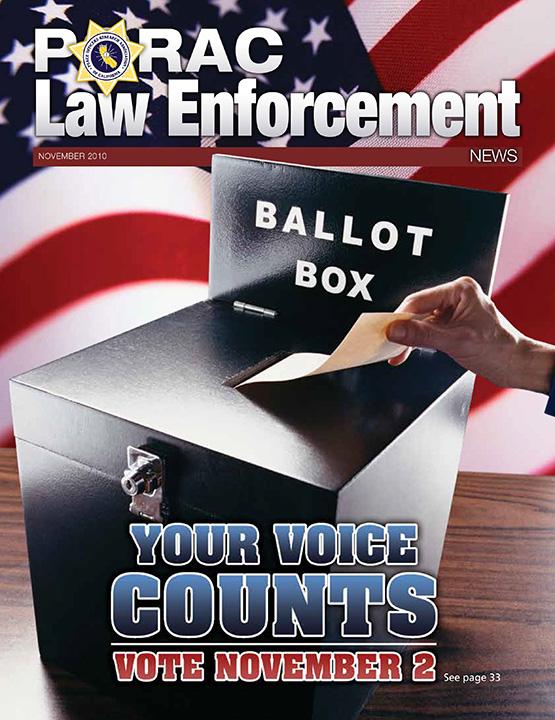 PORAC Law Enforcement News – November 2010