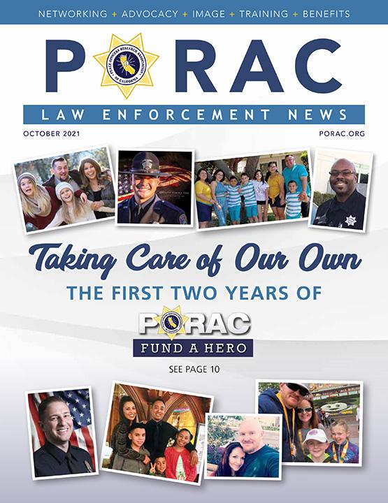 PORAC Law Enforcement News – October 2021